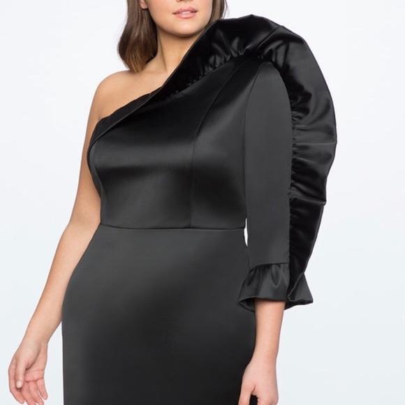 ed12dbb3ba679 Black plus size cocktail dress size 22. NWT. Eloquii